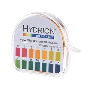 กระดาษลิสมัส 0-13 pH แบรนด์ Hydrion