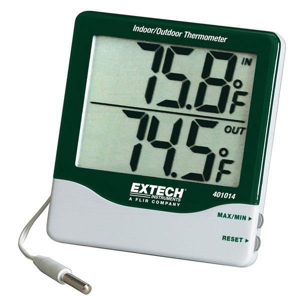 เครื่องวัดอุณหภูมิและความชื้นแบบดิจิตอลเครื่องวัดอุณหภูมิและความชื้นแบบดิจิตอลExtech-401014