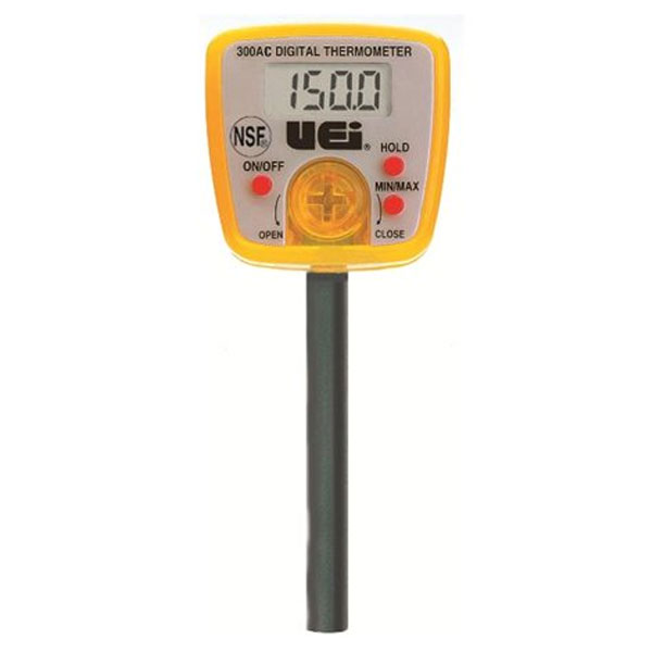 เครื่องวัดอุณหภูมิและความชื้นแบบดิจิตอล-UEi-300AC